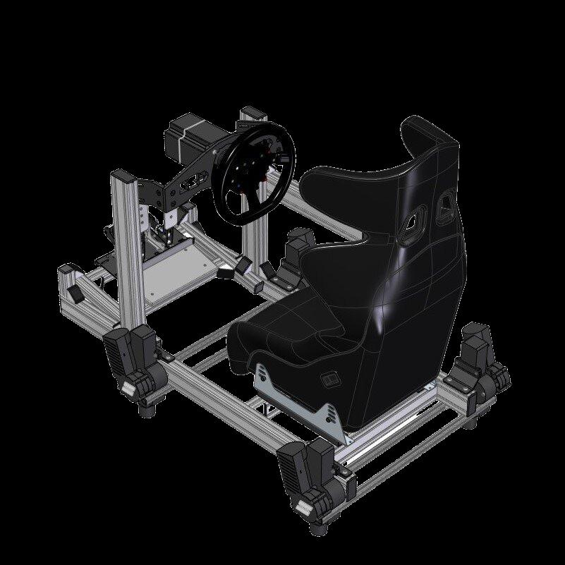 SRD Ultimate Sim Racing Rig