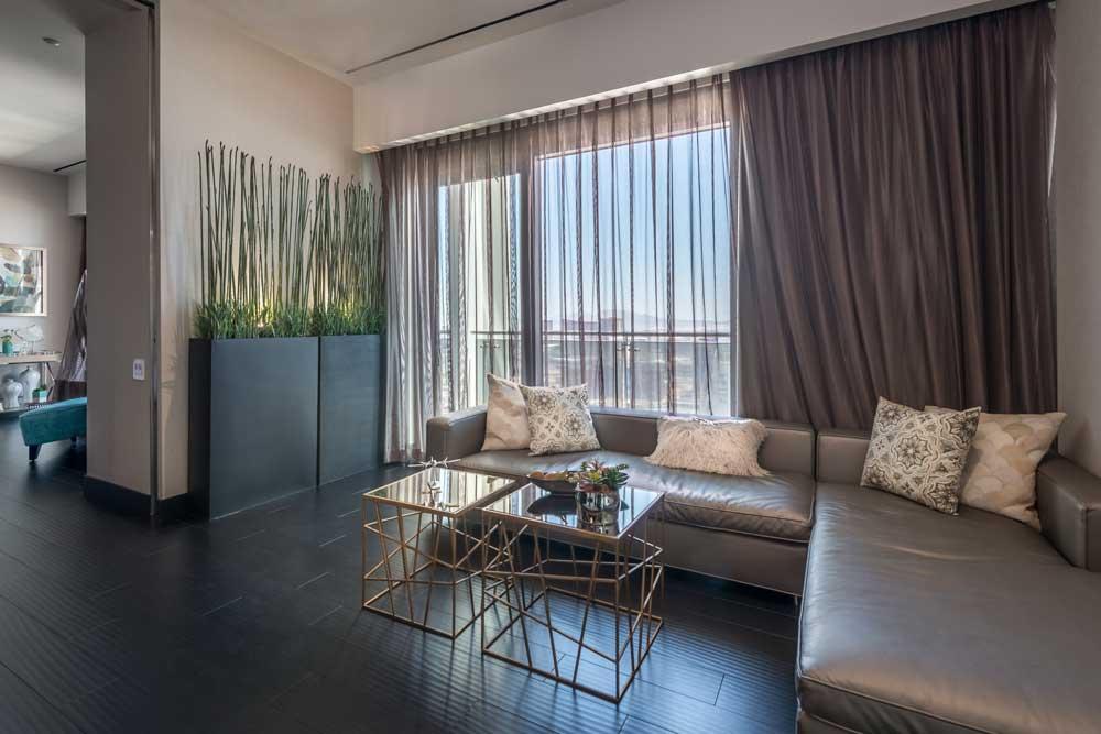 The Palms Place Penthouse Sitting Room - Las Vegas