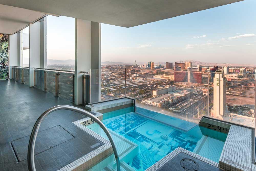 The Palms Place Penthouse Deck - Las Vegas