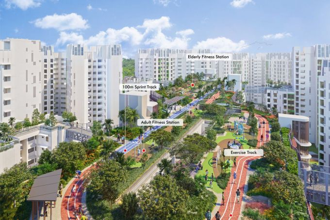 HDB unveils roadmap that aims to enhance residents' health and well-being