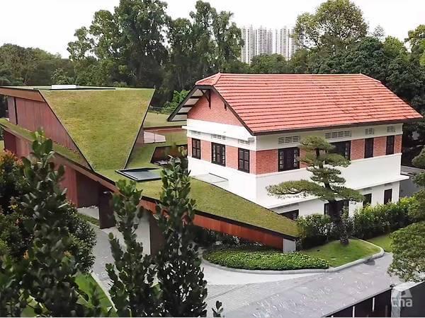 Inside Sheng Siong co-founder Lim Hock Leng's 33,700 sq ft family home