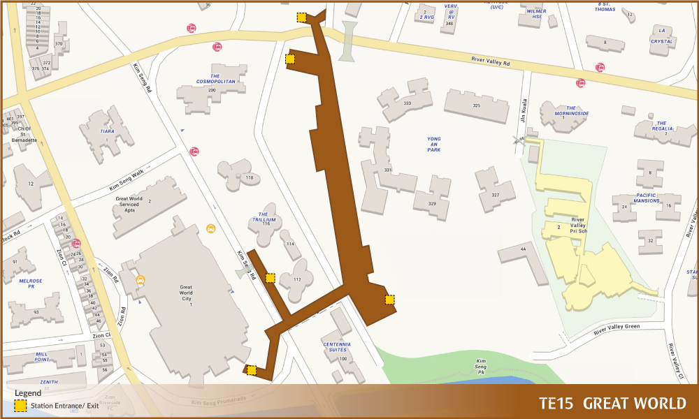 Great World MRT Station | Land Transport Guru