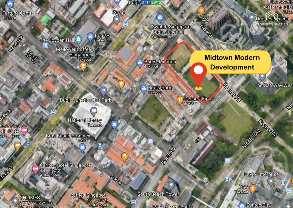 Midtown Modern Development Site