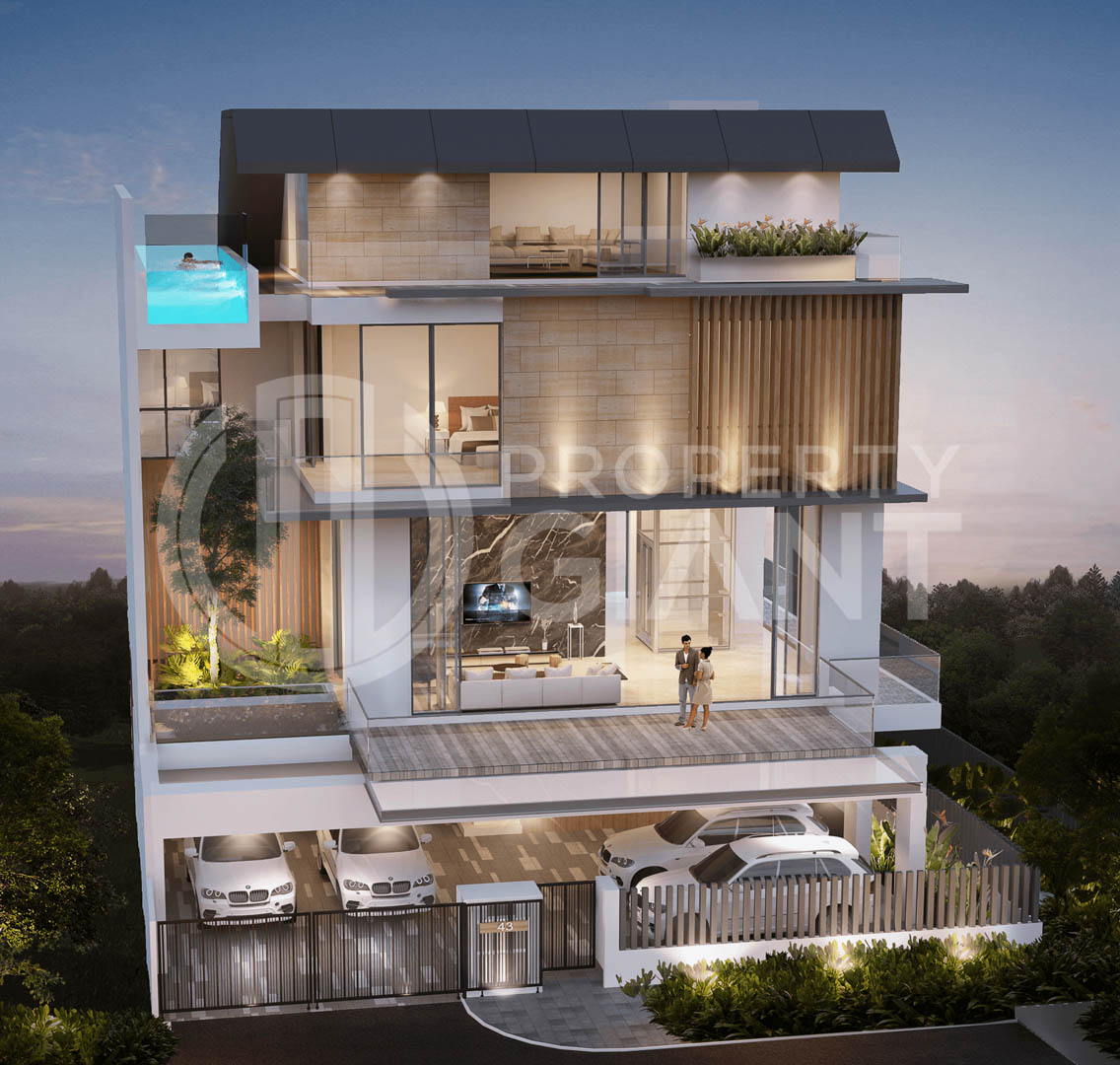 five 5ive @ 43 jalan rabu property giant