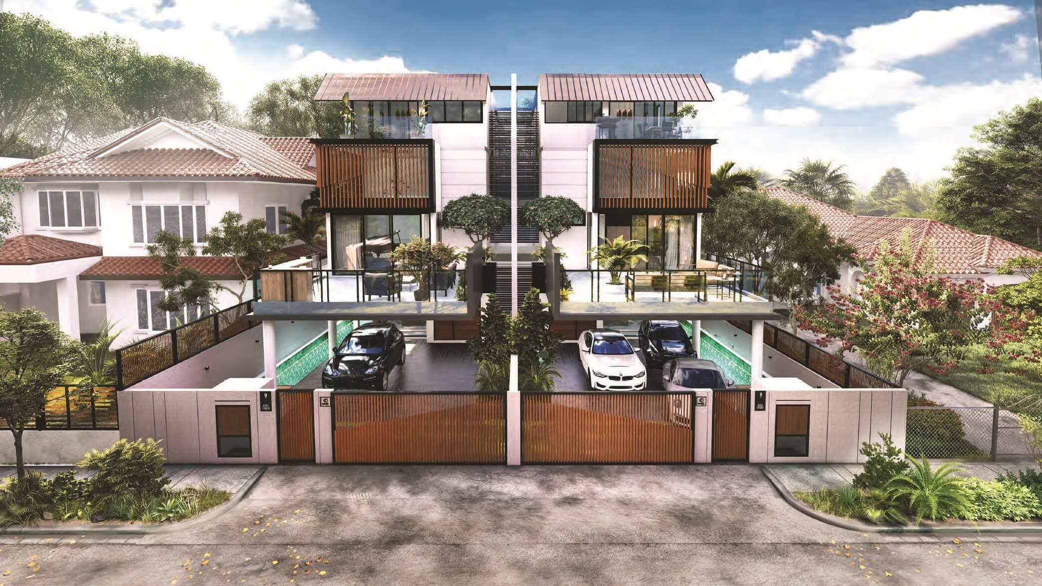 9ine residences Singapore