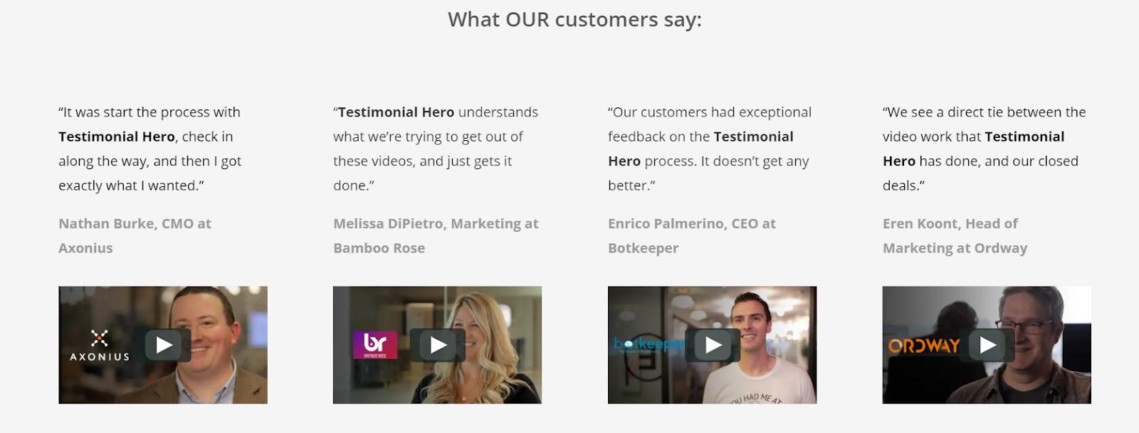 Get more B2B Customer Testimonial Videos