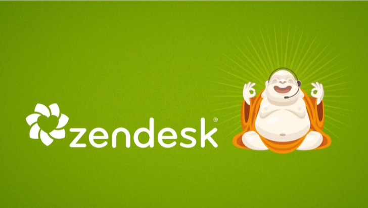 Zendesk's original branding builds brand trust by being recognizable, consistent, and professional