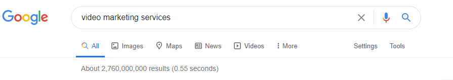 Google video marketing services