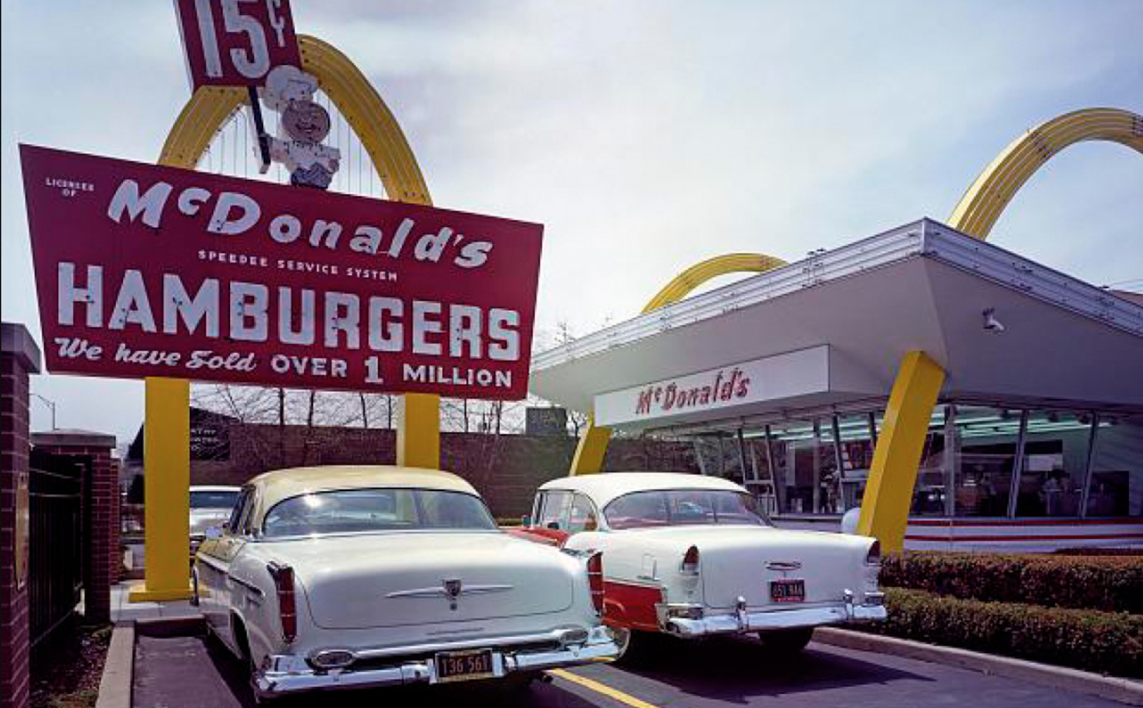 McDonald's early social proof included the number of burger sold.