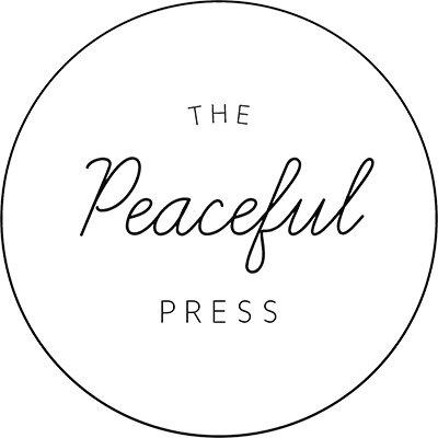 The Peaceful Press Logo