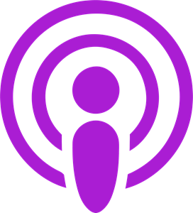 The Apple Podcasts Logo