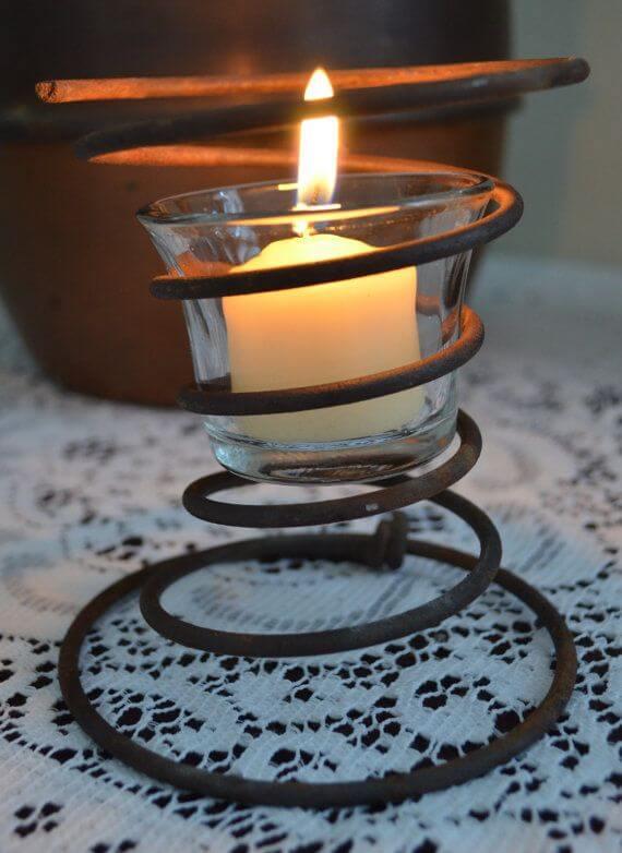 mattress candle holder