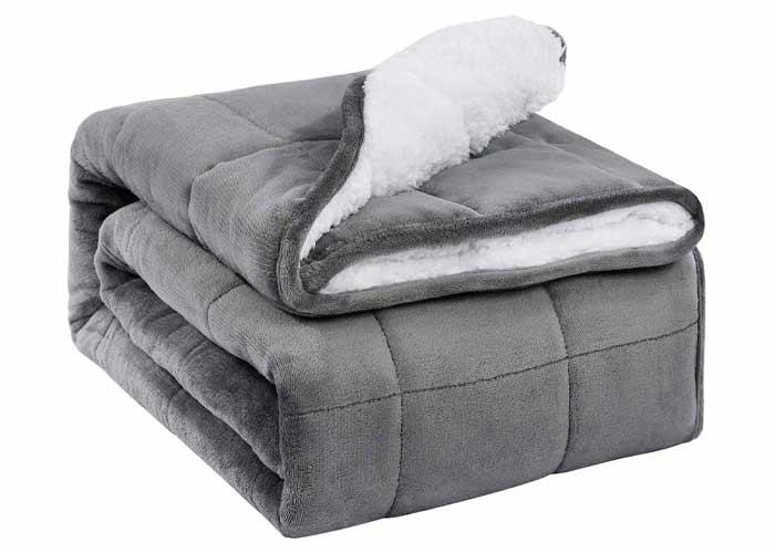 fleece weighted blanket