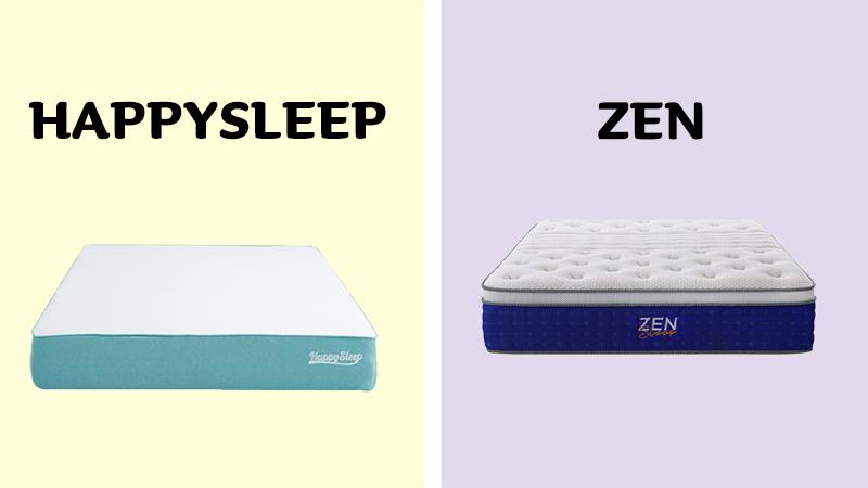 HappySleep vs Zen