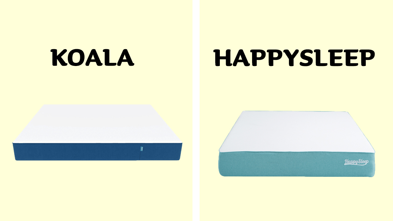 HappySleep vs Koala
