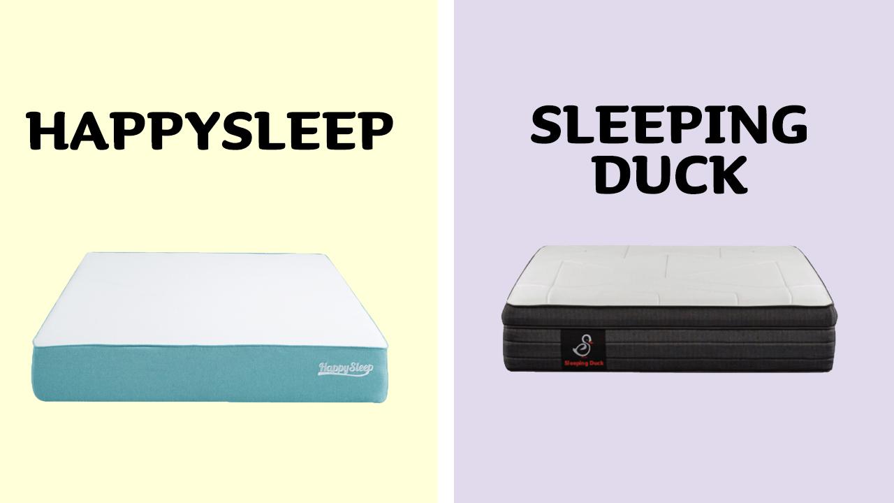 HappySleep vs Sleeping Duck