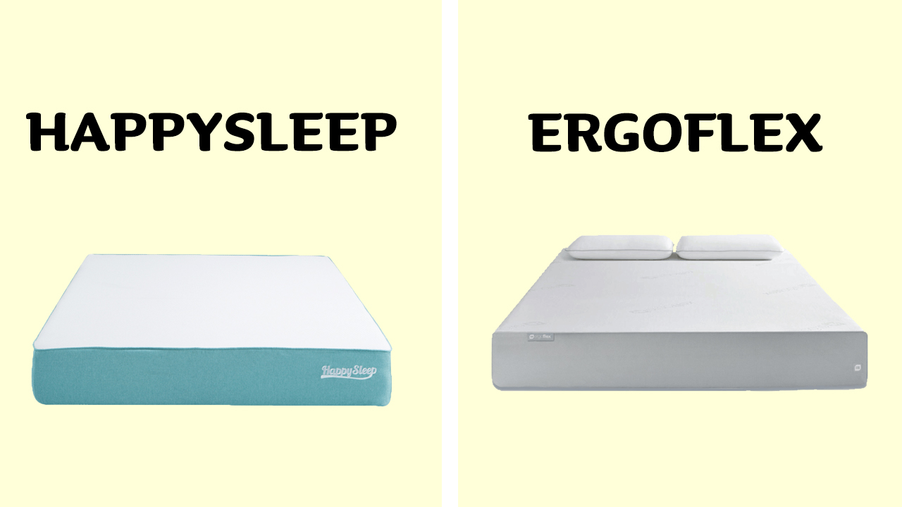HappySleep vs Ergoflex