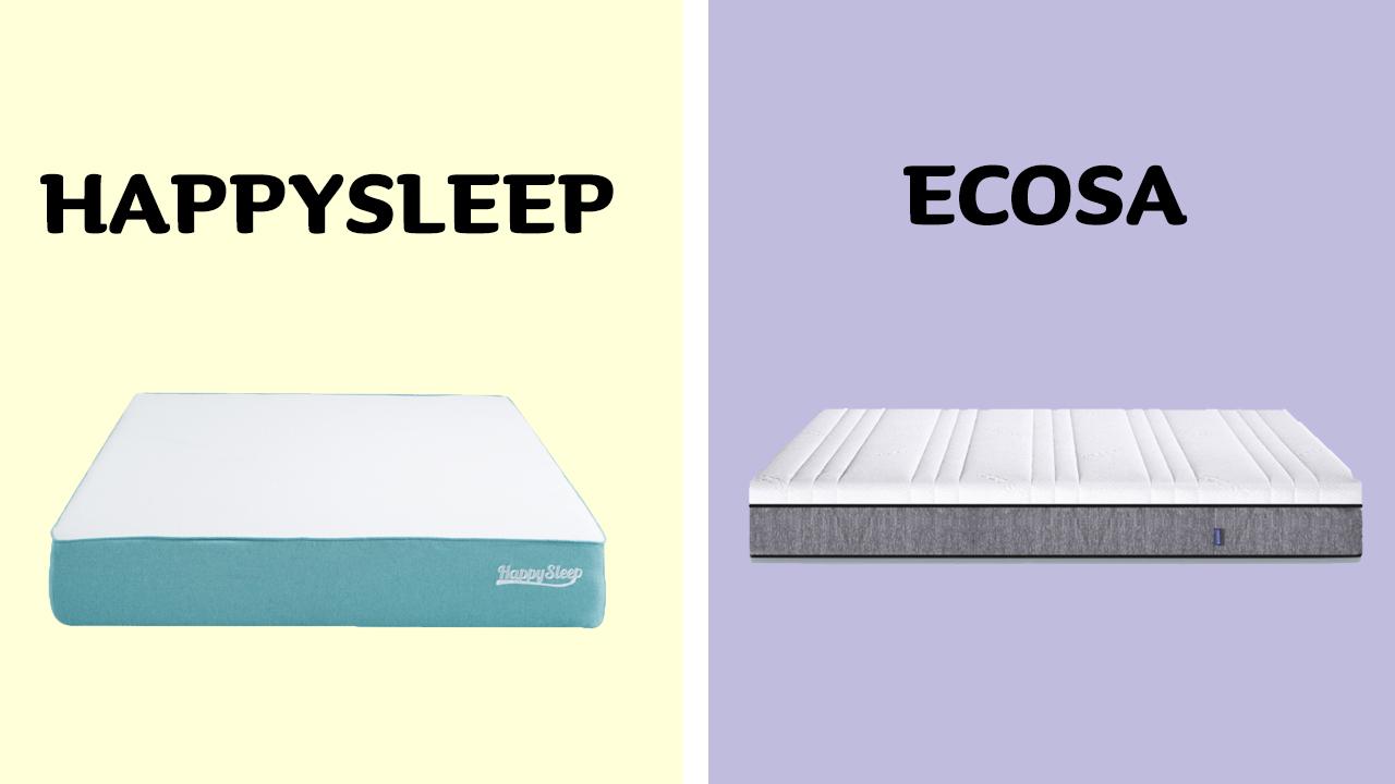 HappySleep vs Ecosa