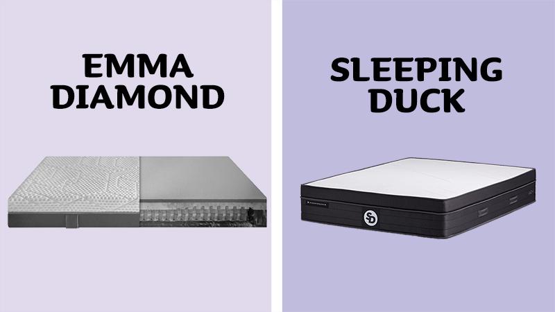 Emma Diamond Hybrid vs Sleeping Duck