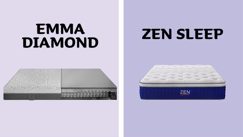 Emma Diamond Hybrid vs Zen Sleep