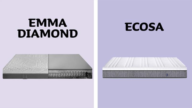 Emma Diamond Hybrid vs Ecosa