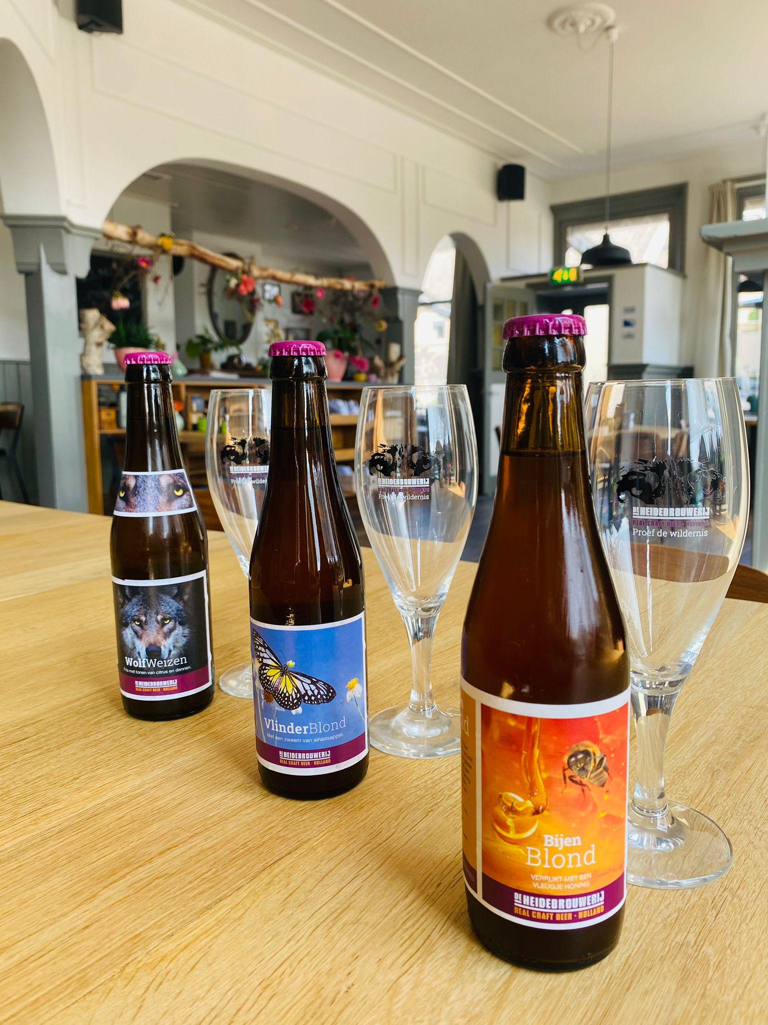 Nieuwe biertjes van De heide Brouwerij!