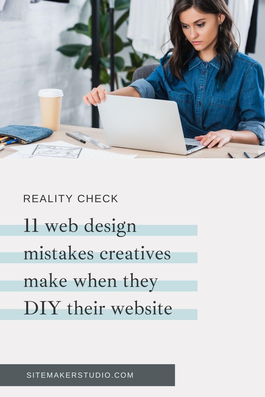 design mistakes creatives make when they diy their website|site design blueprint waitlist cta