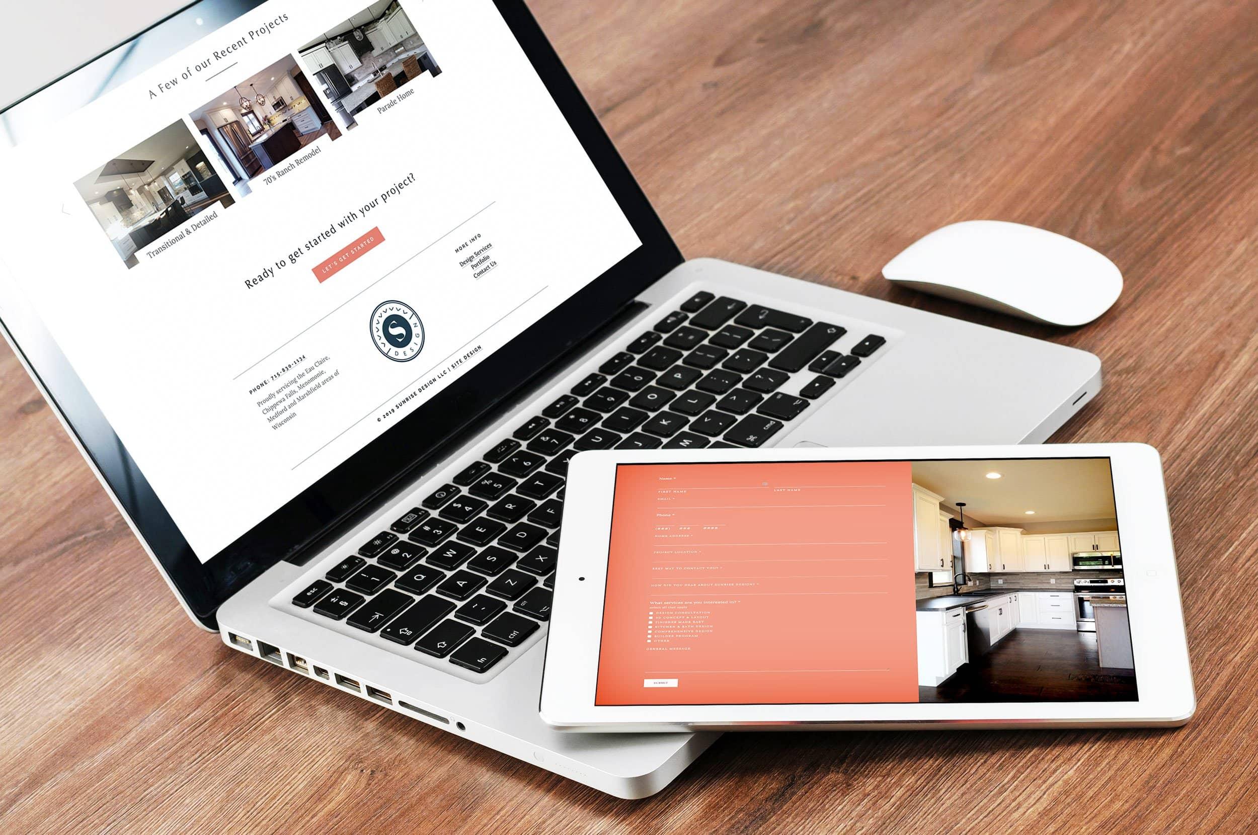 interior designer for builders sunrise design llc website custom built by site maker studio using squarespace