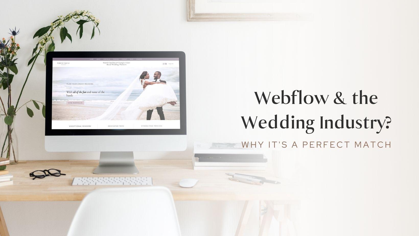 wedding website on webflow
