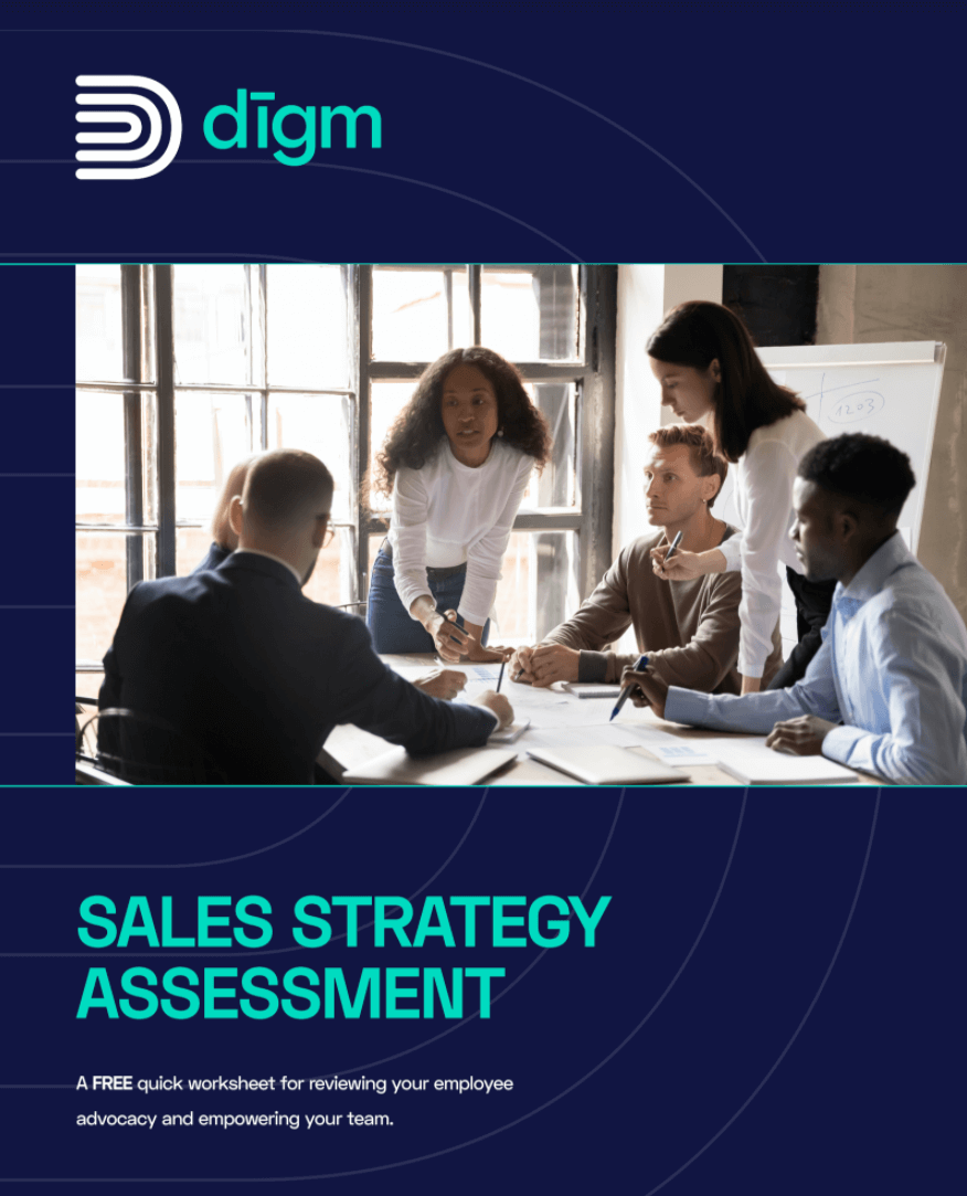 Screenshot of digm consulting sales strategy pdf