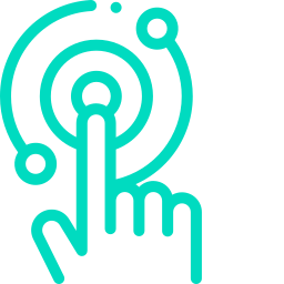 Teal touch icon