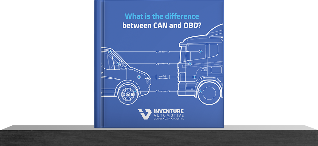 What is the difference between CAN and OBD Inventure Ebook