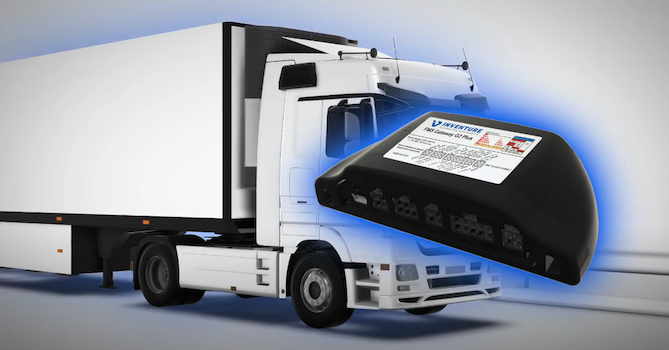 Truck with FMS Gateway G2