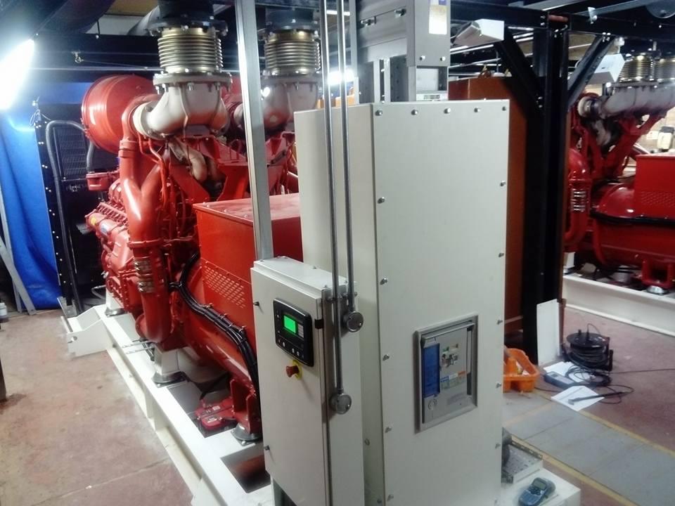 650kVA for gas turbine oil pump