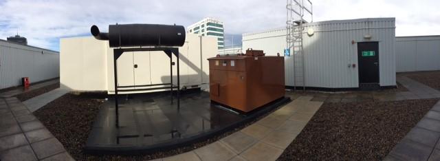 660kVA Rooftop Generator, Manchester