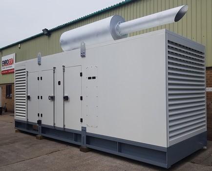 1000kVA Generator for UK Airport