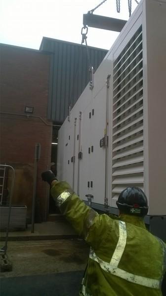 Diesel Generator for UK Airport
