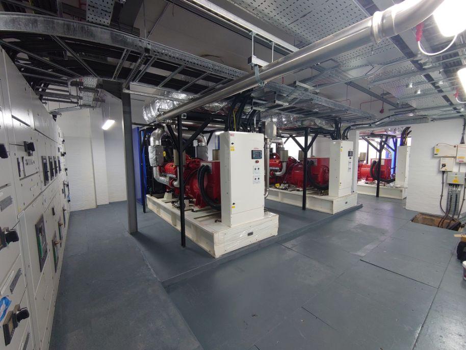 3 x 600kVA Diesel Generators for UK Hospital
