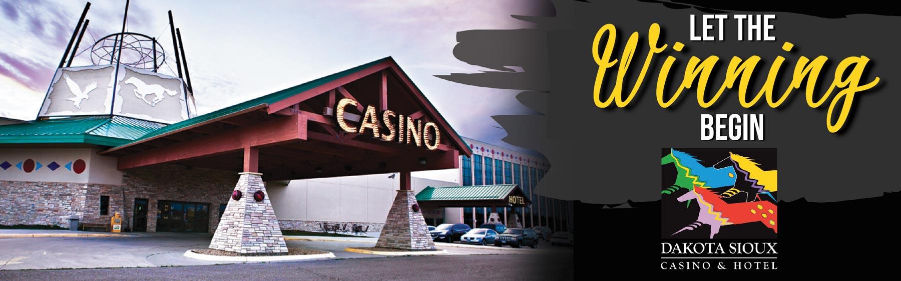 Dakota Sioux Casino entrance
