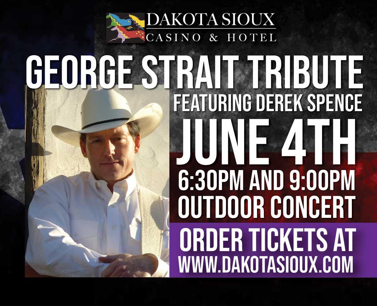 George Strait Tribute Concert promo