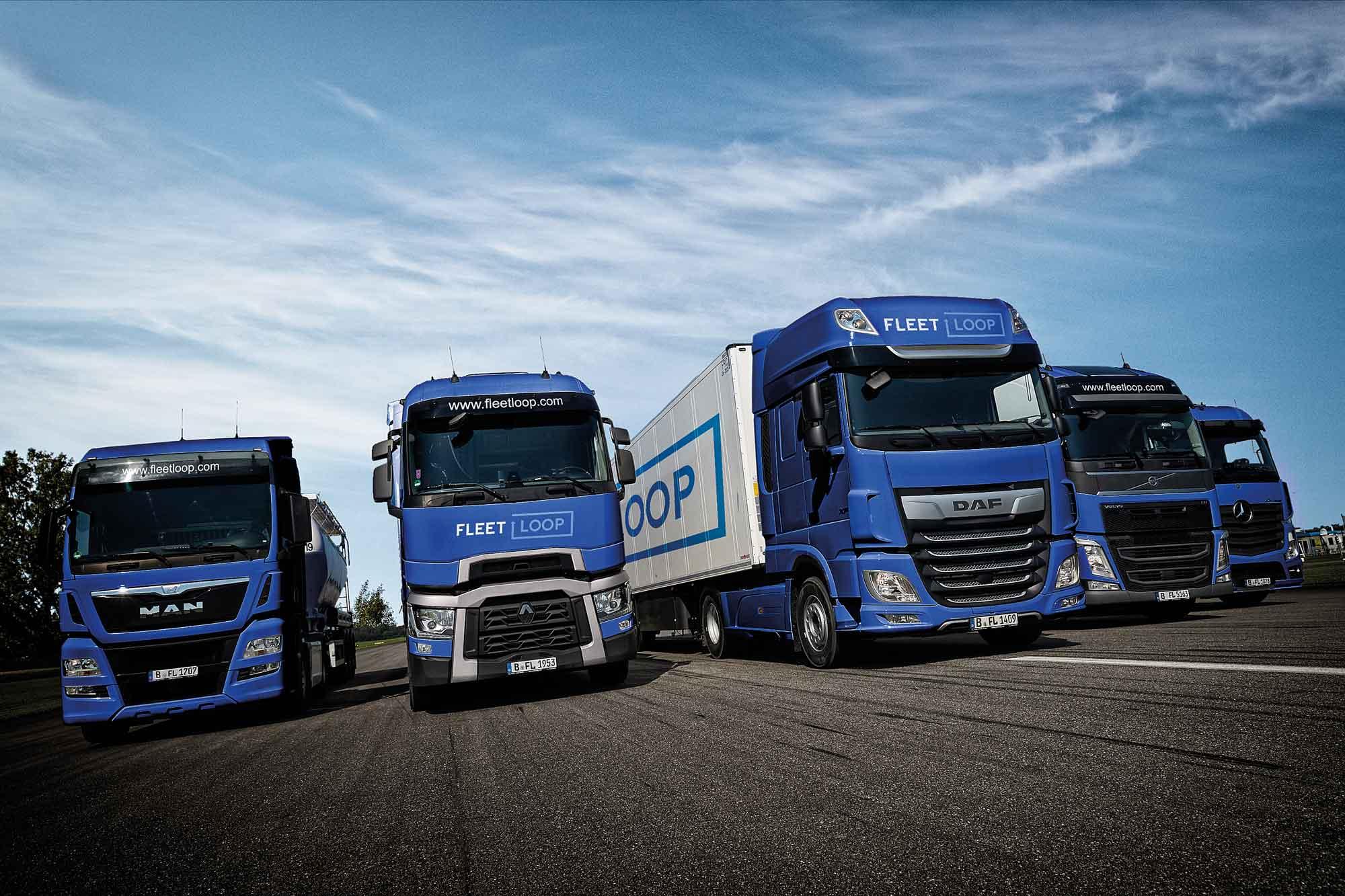 Fleetloop baut ein Franchise-System für Nutzfahrzeugmiete und Werkstattleistungen auf