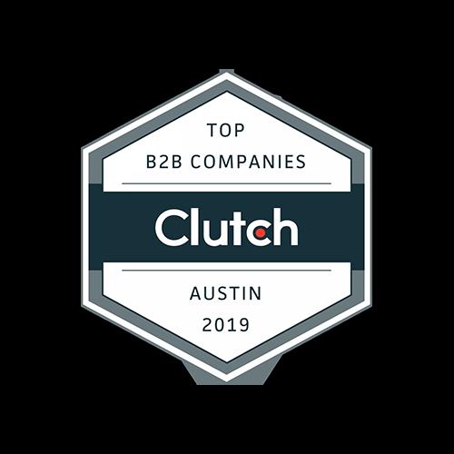 Clutch. Top B2B companies Austin 2019