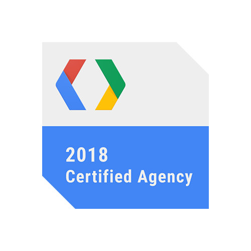 Google certified agency 2018