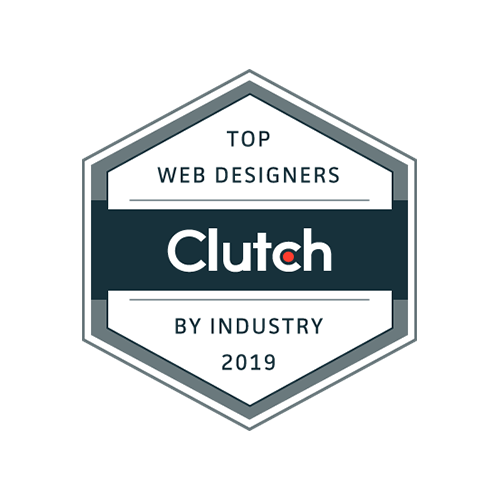 Clutch. Top web designers by industry 2019