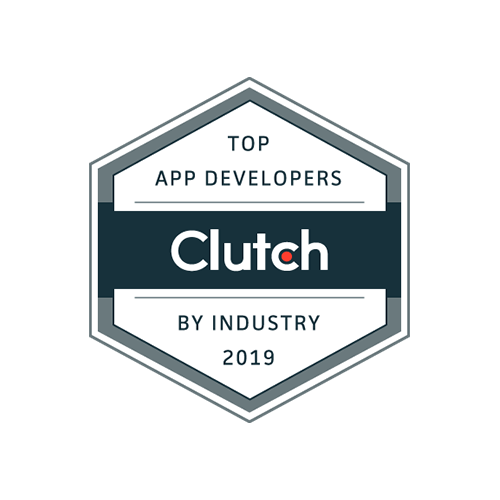 Clutch. Topp app developer by industry 2019