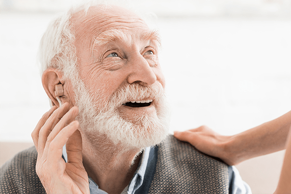 Today's hearing aids are discrete and reproduce the most natural sounds