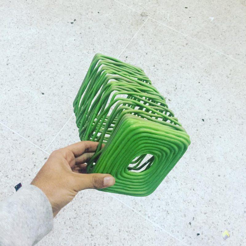 Plastic Extruded Vase