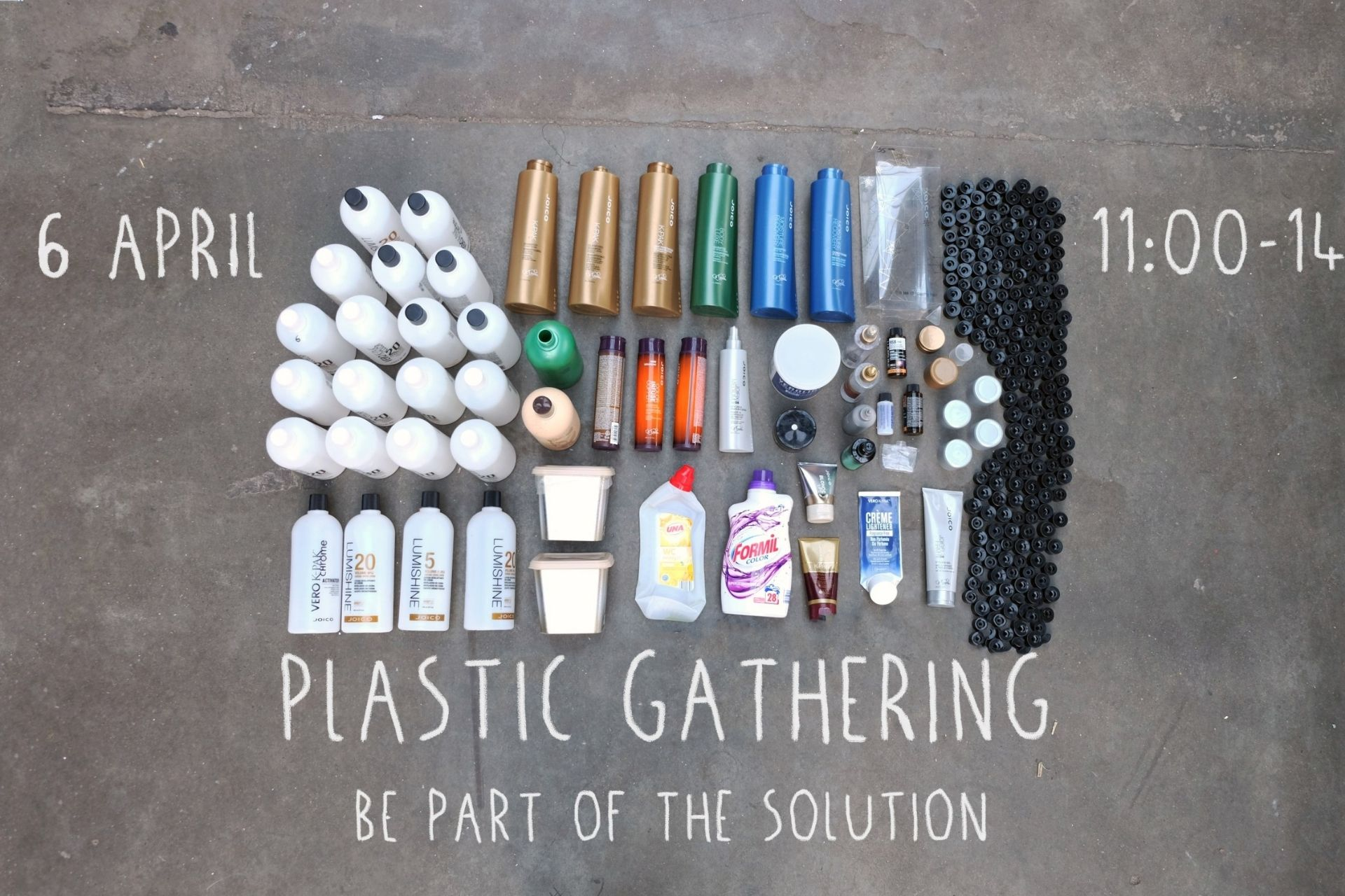 Plastic Gathering event Eindhoven HQ