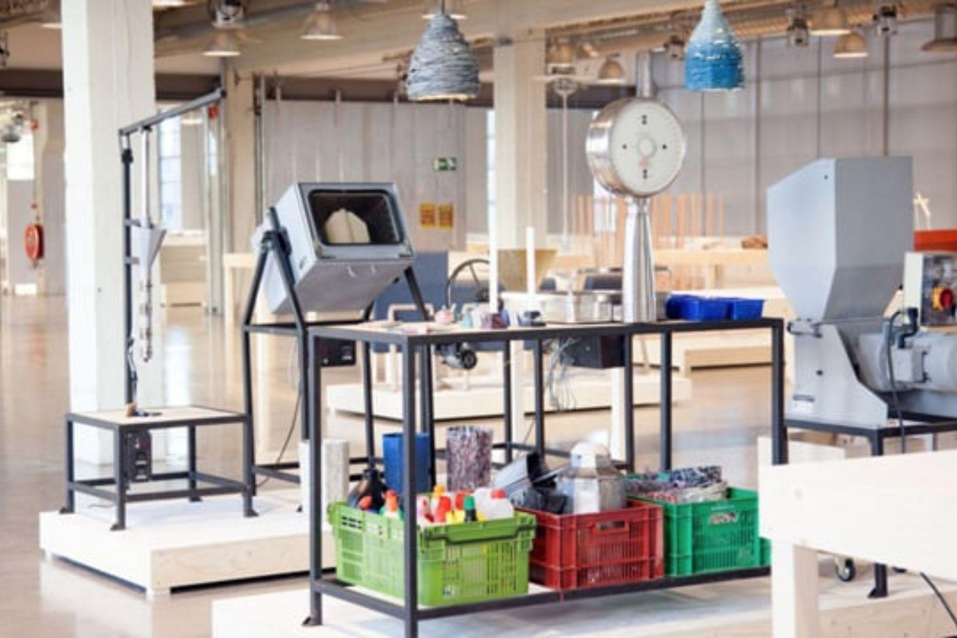 Precious Plastic workspace