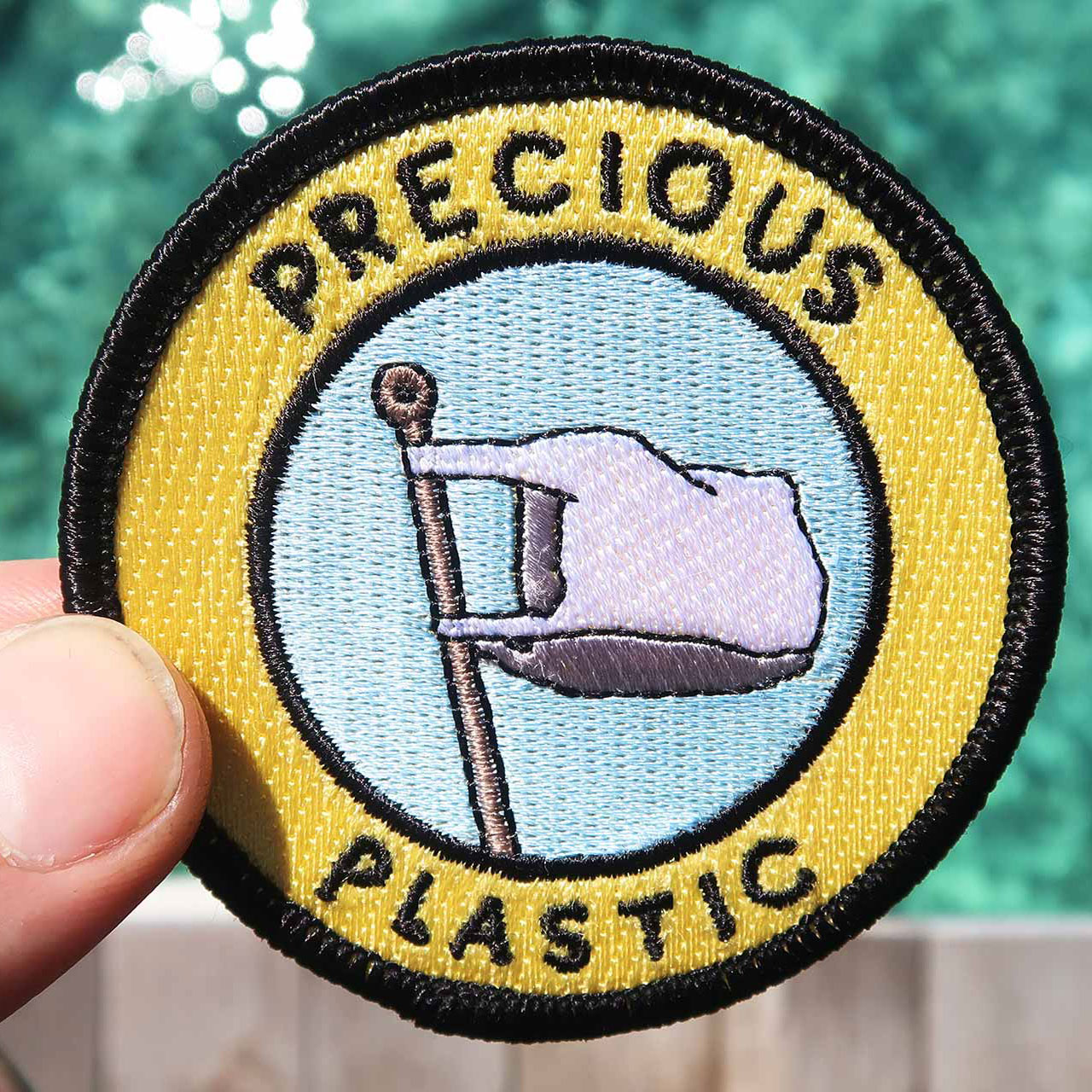 Precious Plastic badge